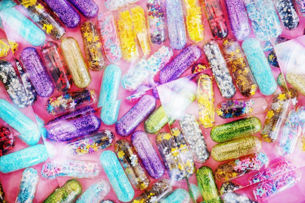 Medikamenten Kapseln